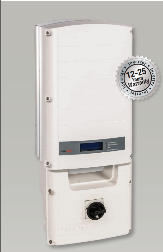 Solar Edge Single Phase Inverter