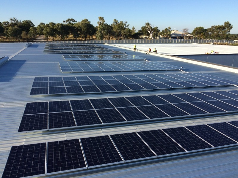 solar panels perth - regen power commercial