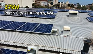 37kW Perth City YHA