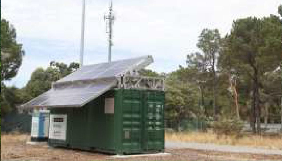 Remote Standalone Microgrid Power Water Communication