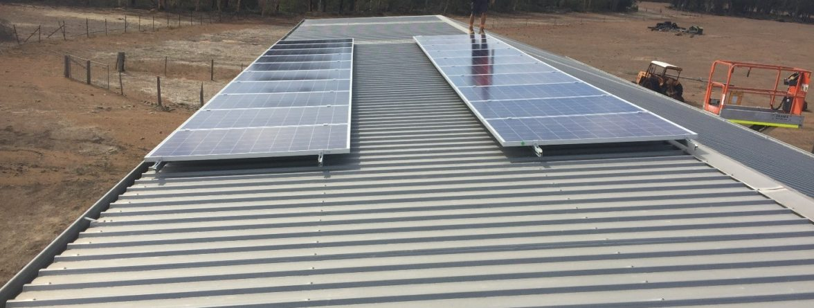 Solar Power in SWER - Panels