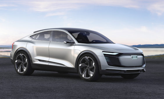 Audi Etron - Electric Car