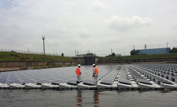 largest floating solar plant - Anhui province china