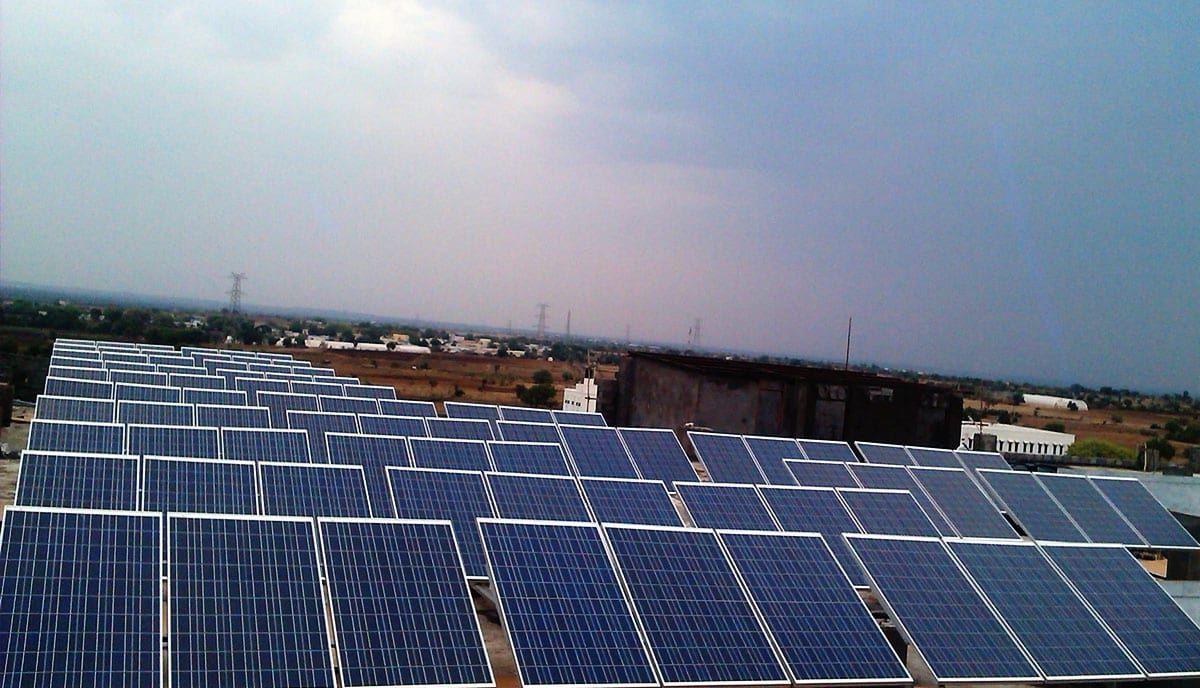 25kw Sagar Group Of Institution Hyderabad Regen Power