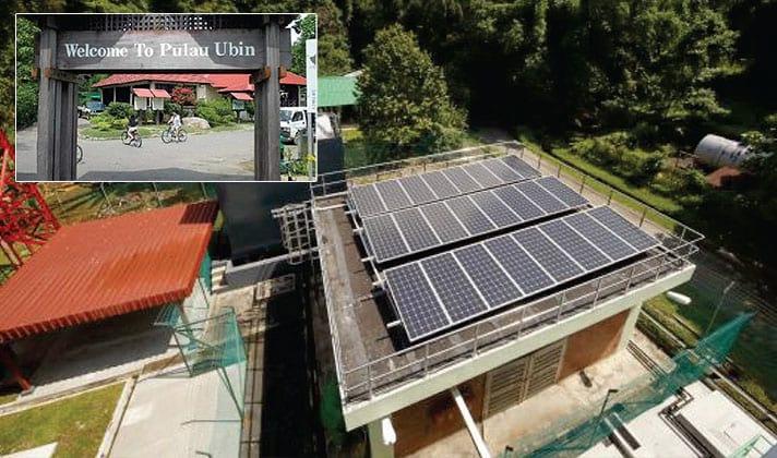 Standalone Remote Island Solar