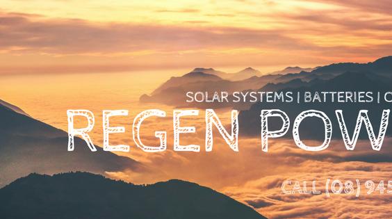 Regen Power Solar Batteries