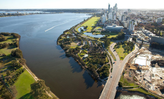 western australia and solar panels