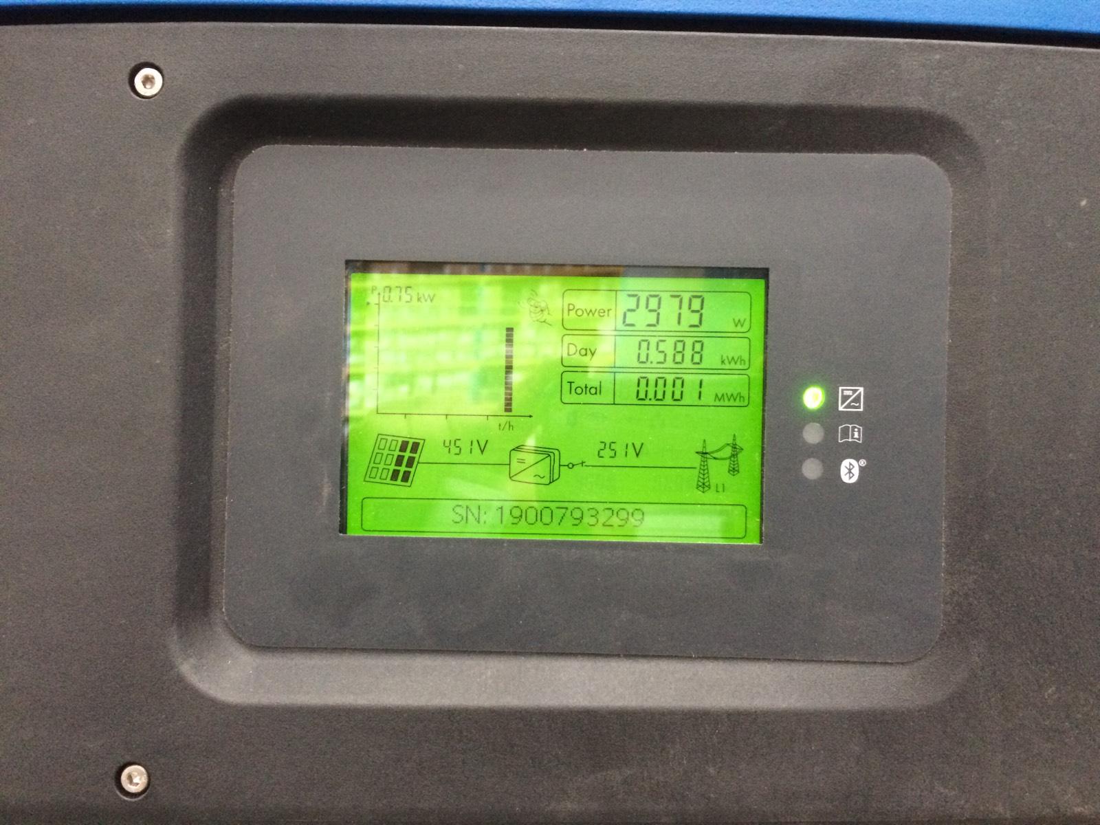 4 X 25kW SMA inverter