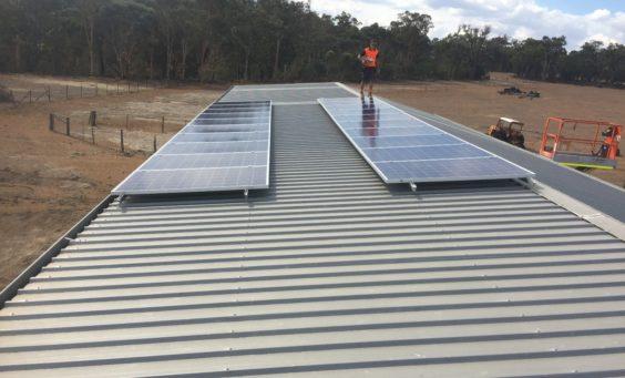 Solar Power in SWER - Panels