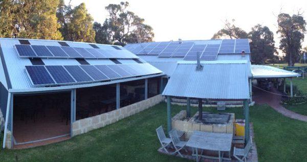 Cape Bouvard Winery solar panels