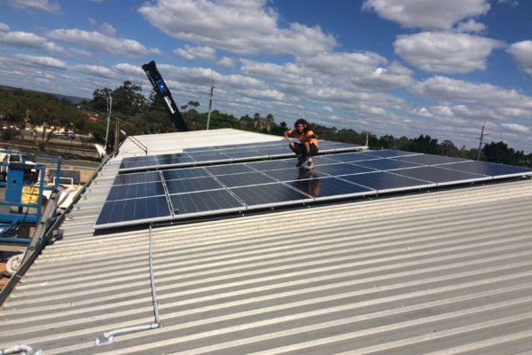 D & Z Construction solar panels