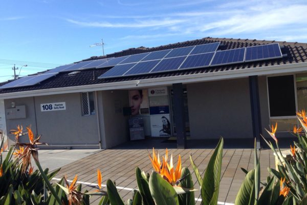 Willetton Specialist Centre solar panels