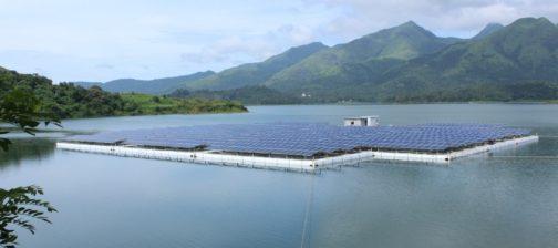 floating solar power plant - banasura sagar dam