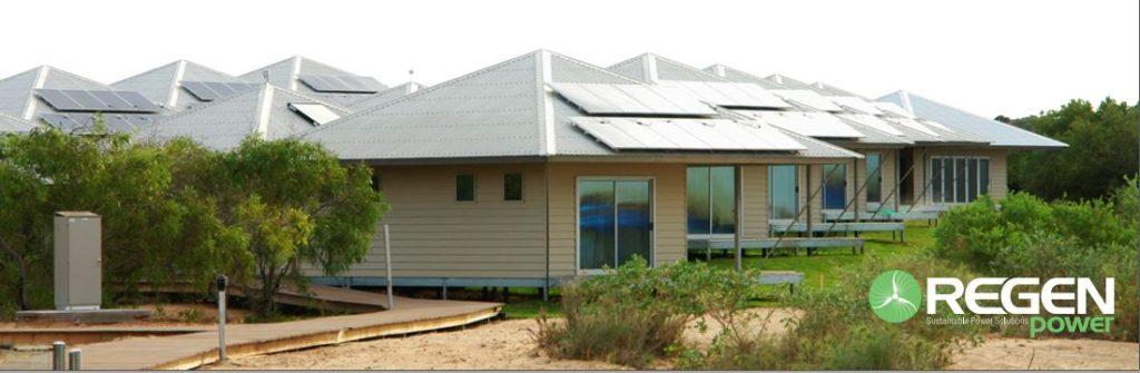 48kw Eco Beach Resort Regen Power
