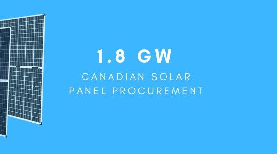 Canadian bifacial panels
