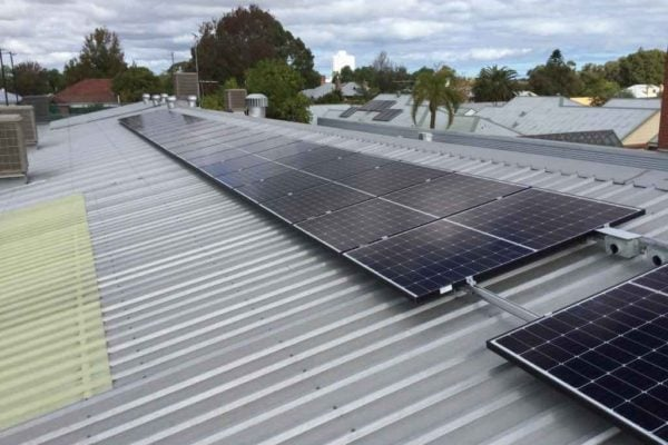 trilogy furniture western australia commercial solar system - 13.2kw