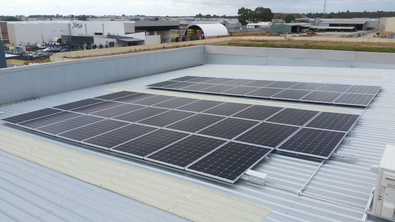 13 2 Kw Commercial Solar Advanced Modular Retaining