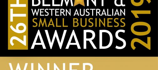 winner of 26th Belmont & WA Small Business Awards 2019- regen power
