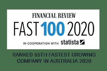 Regen is ranked 5th fastest growing company in Australia 2020