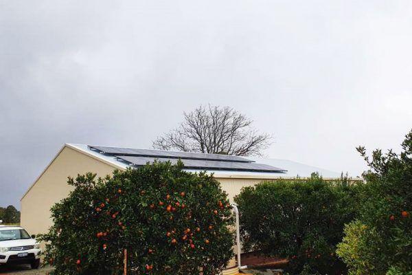 solar panels perth