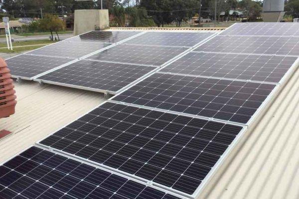 solar panel Langford