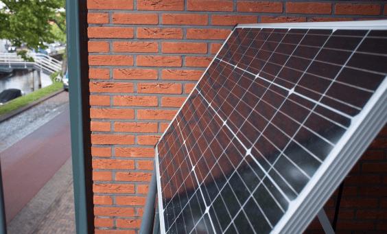 solar panel from my balcony