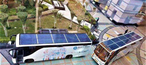Solar Panels for Bus