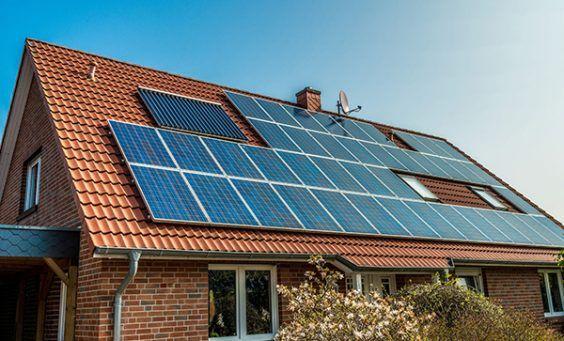 solar panels direct sunlight